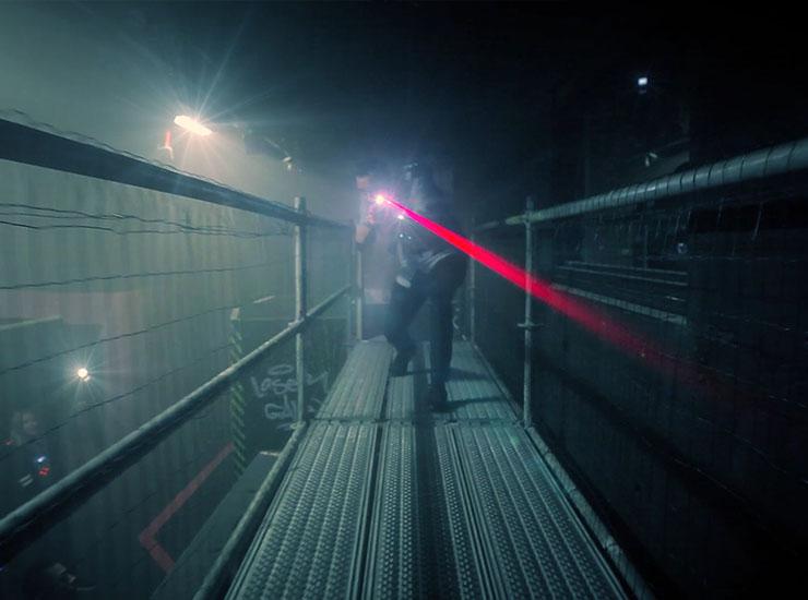 De Uithof – Lasergame promotie
