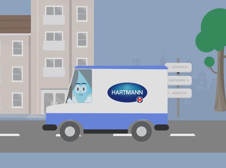 Hartmann – Handhygiëne Animatie